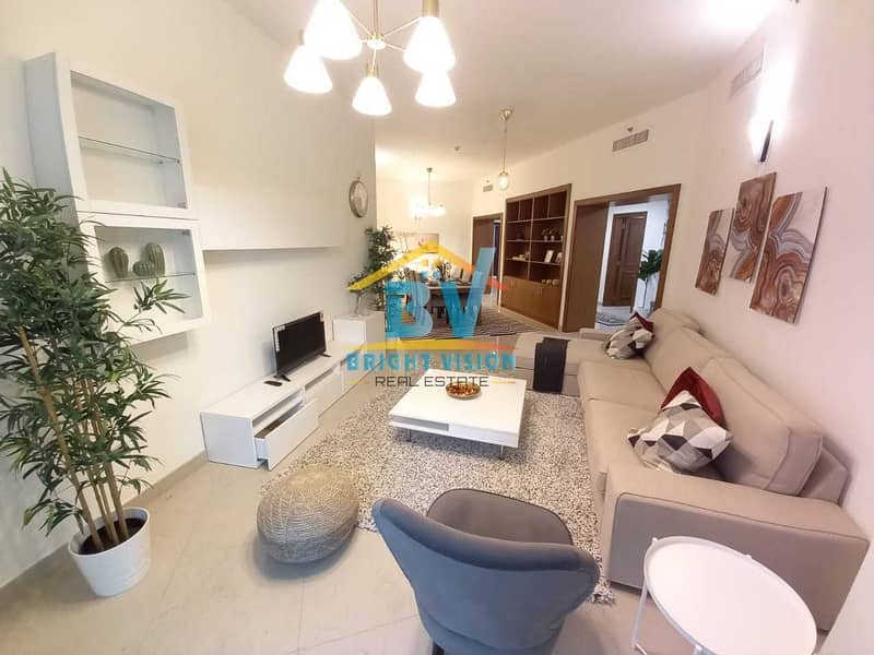 No Commission |Be the First Tennent| 2 BHK with Partial Water View| maids | Balcony