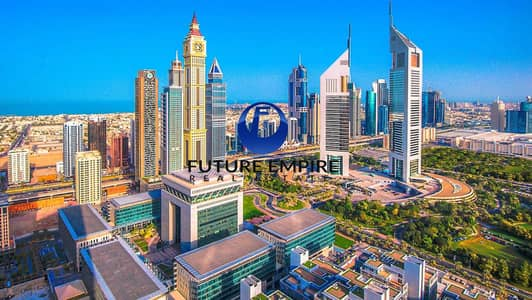 1 Bedroom Apartment for Rent in Sheikh Zayed Road, Dubai - Luxurious 1BHK   Fully SZR View   Prime Location   New Tower