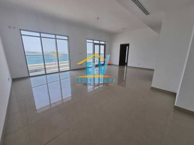 3 Bedroom Townhouse for Rent in Al Reem Island, Abu Dhabi - Mesmerizing Full Sea View   Modern 3BHK Duplex   Maids & Balcony
