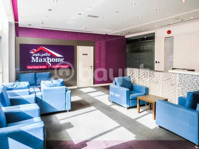 Commercial offices with lovely and beautiful ambiance in Khalidiya
