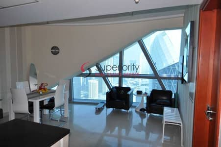 2 Bedroom Apartment for Sale in DIFC, Dubai - Rented | High floor | Lovely views