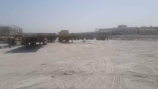ارض صناعية  للايجار في جبل علي، دبي - open land in  for storage purpose