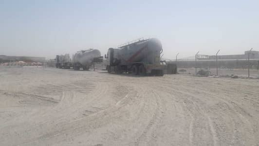 Industrial Land for Rent in Jebel Ali, Dubai - open land in  for storage purpose