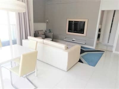 1 Bedroom Flat for Rent in Business Bay, Dubai - FULLY FURNISHED CANAL VIEW SPACIOUS 1 BED ROOM WITH BALCONY RENT IN DAMAC MAISON THE VOGUE BUSINESS BAY