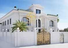 فیلا 5 غرف نوم للبيع في الشامخة، أبوظبي - Brand New 5BR Villa 2 Mjlis|2Halls|Main Street