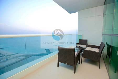 2 BR + Maid Room   Amazing Sea View   High Floor   Direct Beach Access   Well Maintained