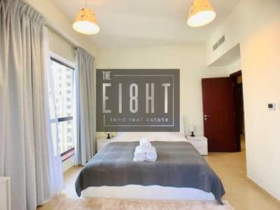 فلیٹ 2 غرفة نوم للايجار في جميرا بيتش ريزيدنس، دبي - Full Marina view furnished 2 Br apartment