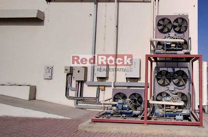 12 New 9366 Sqft Cold Store with Chillers and Freezer in Jebel Ali
