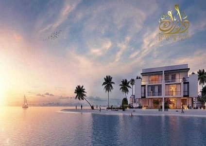 5 Bedroom Villa for Sale in Sharjah Waterfront City, Sharjah - Villa for sale on an island overlooking the sea