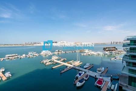 بنتهاوس 4 غرف نوم للبيع في شاطئ الراحة، أبوظبي - Unique Penthouse | Open Sea View | Beach Access