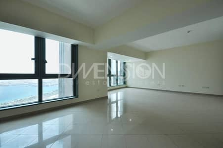 Stunning 3BR in a High Floor Unit with Patio Terrace