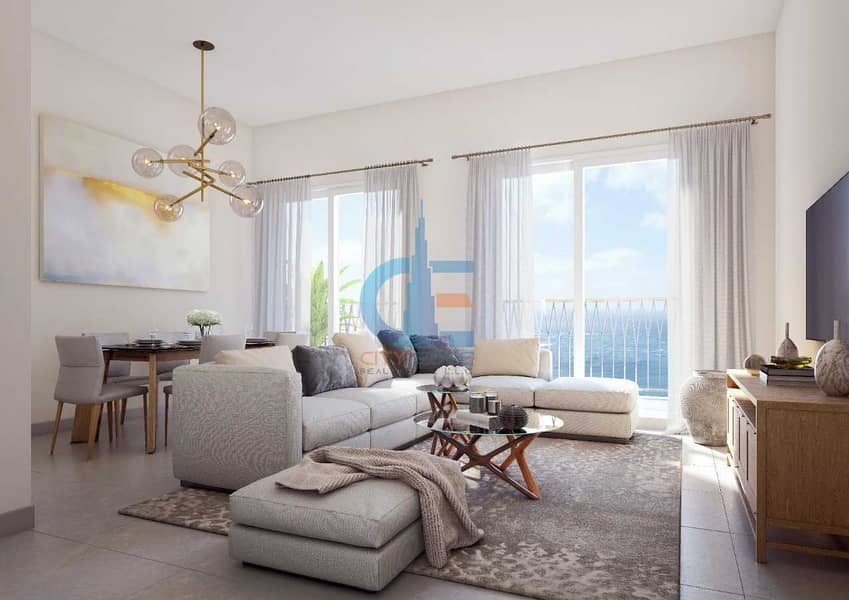 own your apartment in BEACH FRONT with 50% RFS free