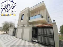 New villa, the first inhabitant, at the price of a snapshot, close to a main street, in front of Al-Rahmaniya neighborhood.