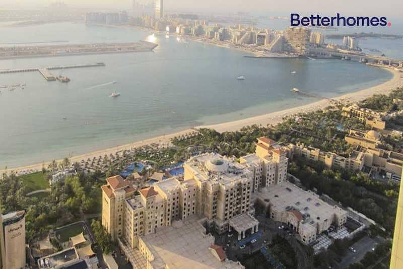 Full Sea View | 2 Balconies | High Floor