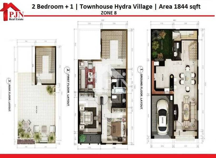 11 Villa for rent in Hydra Village - Zone 8