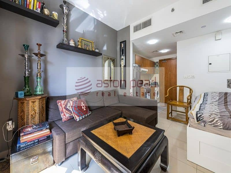 2 Offering furnished studio | Quality furniture
