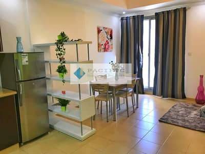 Spacious Furnished Studio, Balcony Monthly Pay