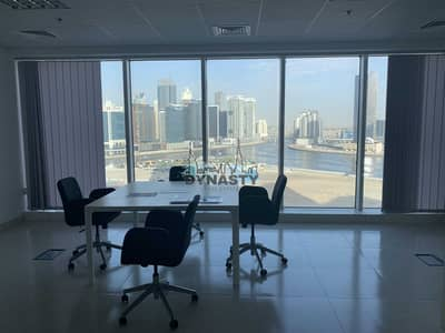 Office for Rent in Business Bay, Dubai - Canal View | Open Layout | 1 Parking || Near Metro
