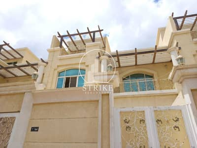 5 Bedroom Villa for Rent in Al Muroor, Abu Dhabi - Villa with 5 master BR with a yard & available parking