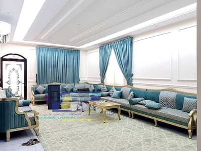 5 Bedroom Villa for Rent in Al Yasmeen, Ajman - Villa for rent in Jasmine, excellent new finishing, first inhabitant