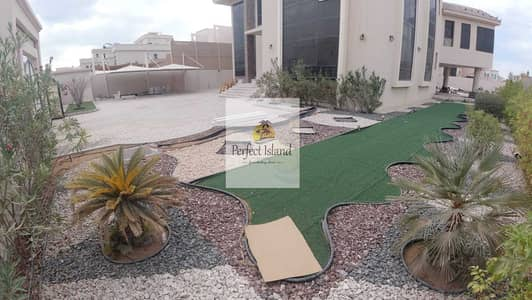 6 Bedroom Villa for Rent in Mohammed Bin Zayed City, Abu Dhabi - Stand Alone Corner VIP 6 BR + M | Huge Yard | Extension Services