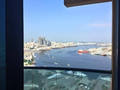 For sale 1BHK apartment area of 940 sq.feet with creek view in Ajman Pearl Towers
