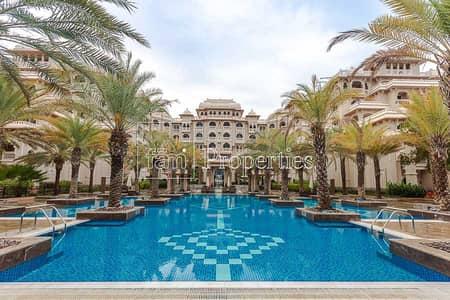 شقة 2 غرفة نوم للبيع في نخلة جميرا، دبي - Beachside   2Bed+Maid Furnished