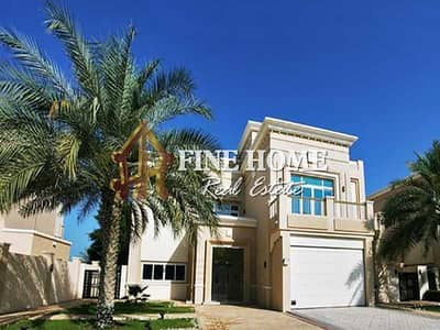 6 Bedroom Villa for Sale in The Marina, Abu Dhabi - For Sale Villa | 6 MBR | Swimming Pool | Jacuzzi