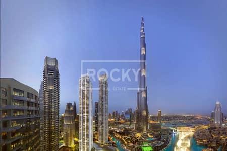 4 Bedroom Penthouse for Sale in Downtown Dubai, Dubai - Spacious 4 beds | Burj view | IL Primo