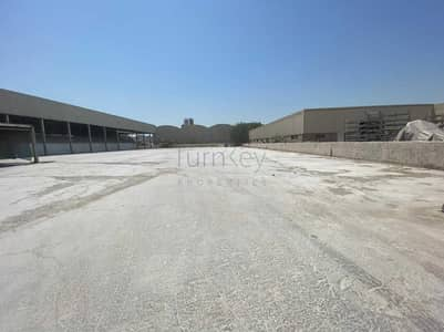 Factory for Rent in Jebel Ali, Dubai - ALL IN ONE FACTORY LAND WITH OFFICE AND SHED
