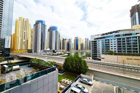 1 Bedroom Apartment for Rent in Dubai Marina, Dubai - Full Marina View   1 - 2 Cheques   Unfurnished