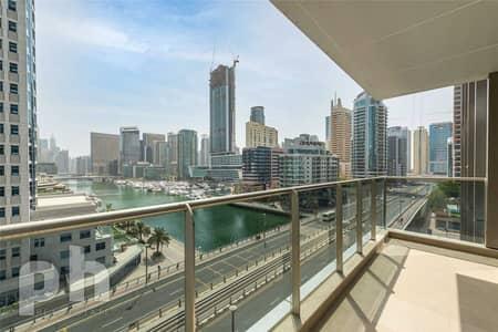 شقة 1 غرفة نوم للبيع في دبي مارينا، دبي -   Marina View   Genuine Seller   Vacant