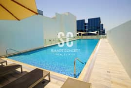 شقة في بناية ثنايا المطار 1 غرف 75000 درهم - 5278945