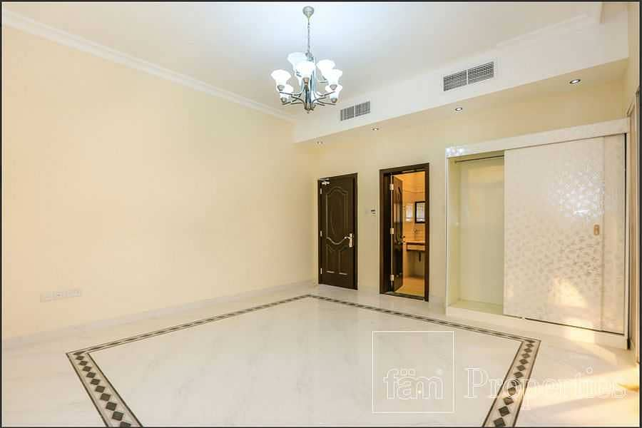 Gated community villa with private pool