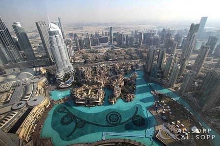 شقة 2 غرفة نوم للايجار في وسط مدينة دبي، دبي - Breathtaking Views   2 Bedroom Plus Maid's