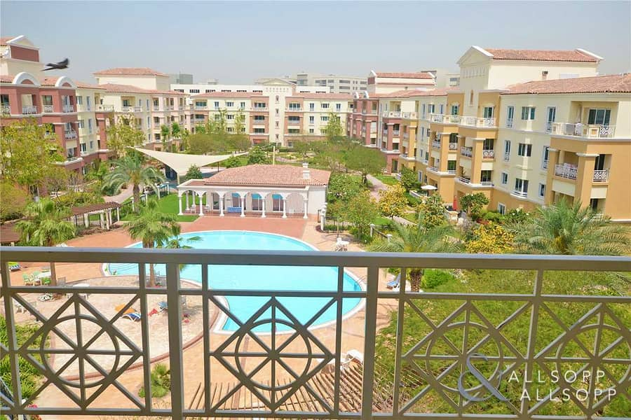 1 Bed | Pool and Garden View | Third Floor
