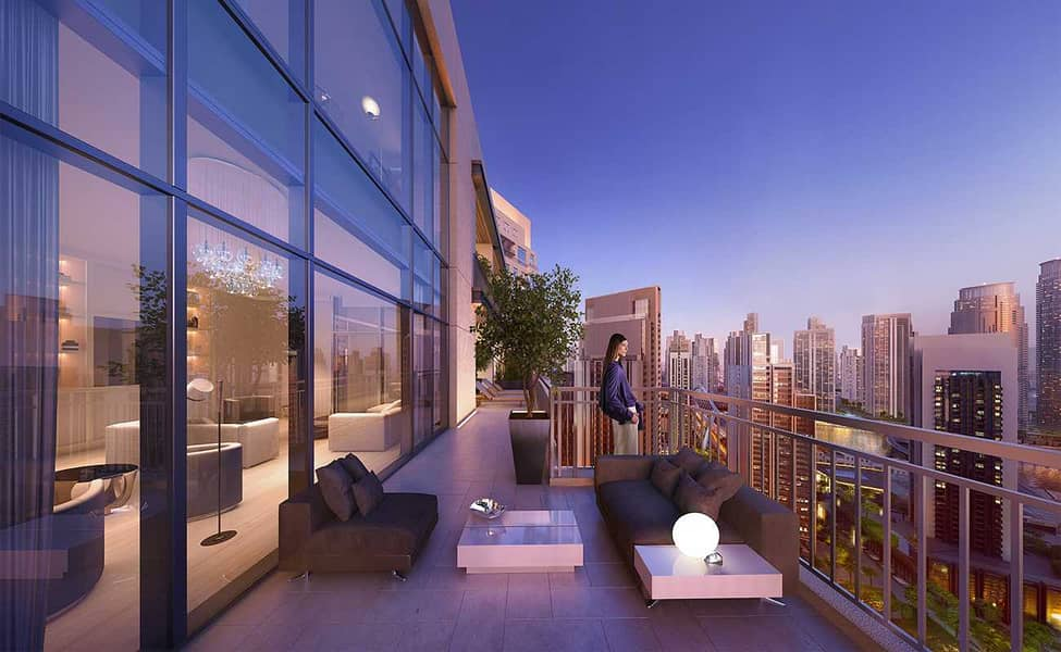 16 Lux 4 BR Penthouse   Signature Views   Half Floor