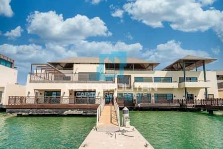 5 Bedroom Villa for Sale in Al Gurm, Abu Dhabi - Premium Waterfront  Villa| Upgraded| Lavish Layout