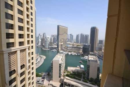 شقة 2 غرفة نوم للايجار في جميرا بيتش ريزيدنس، دبي - Exclusive | Unfurnished | Partial Marina View