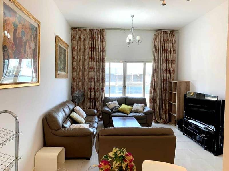 Luxury Furnished | Bright Lavish 1 B/R With Balcony/Pool/Gym