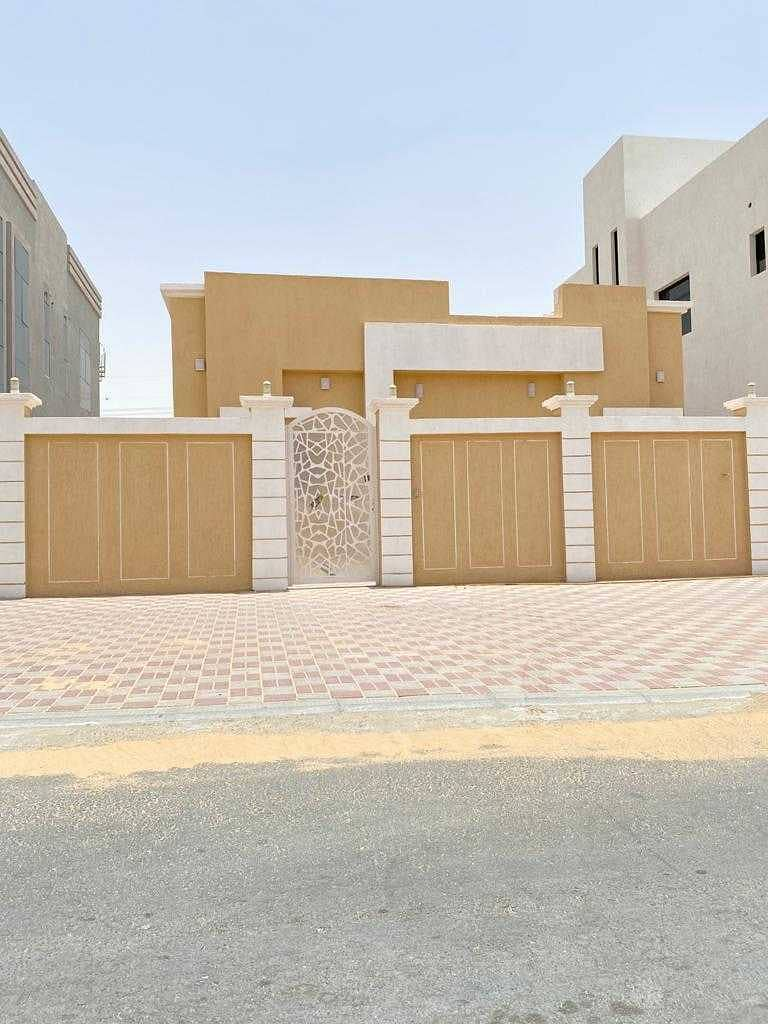 GRAB THE DEAL BRAND NEW GROUND FLOOR VILLA FOR RENT 3 BEDROOMS HALL IN AL YASMEEN AJMAN FOR ALL NATIONALITIES RENT 65,000/- AED YEARLY