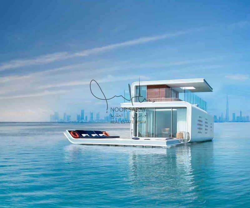 7 star Luxury Seahorse Villa in Dubai - Net 100%  ROI