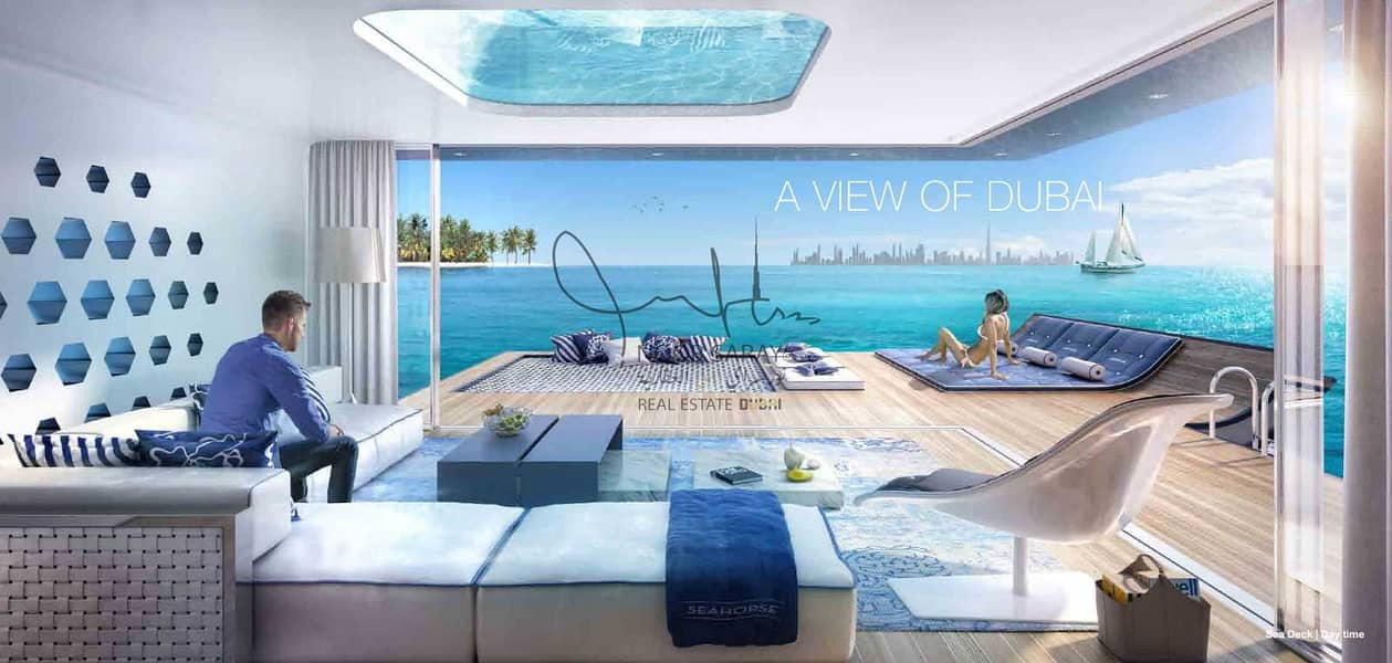 2 7 star Luxury Seahorse Villa in Dubai - Net 100%  ROI
