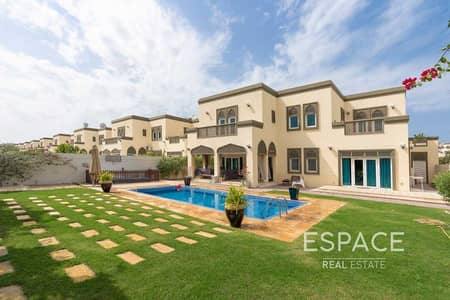 فیلا 5 غرف نوم للايجار في جميرا بارك، دبي - Family Home | Single Row | Private Garden