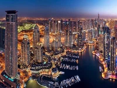بنتهاوس 4 غرف نوم للبيع في دبي مارينا، دبي - Top Floor | Marina View | 4-Bedroom Penthouse