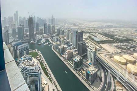 فلیٹ 1 غرفة نوم للبيع في جميرا بيتش ريزيدنس، دبي - Serviced | Marina View | High Floor | S1D
