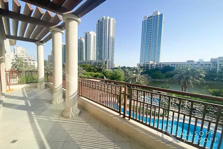 2 Bedroom Apartment for Rent in The Views, Dubai - Full Lake View   2 Bedrooms   Chiller Free