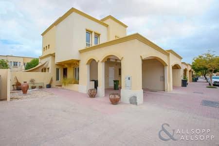 فیلا 3 غرف نوم للايجار في الينابيع، دبي - Springs 4 | Upgraded Unit | Type 3E