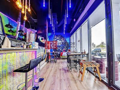 Shop for Sale in Al Mina, Dubai - Ready Juice Bar | Wasl Port Views | Furnished