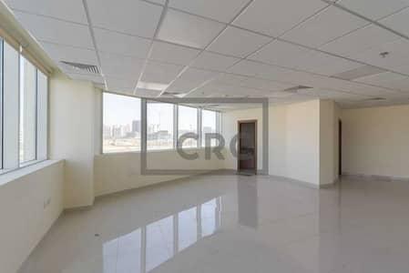 مکتب  للايجار في مجمع دبي ريزيدنس، دبي - 50 AED Per Sq Ft | Chiller Free | Fitted Office